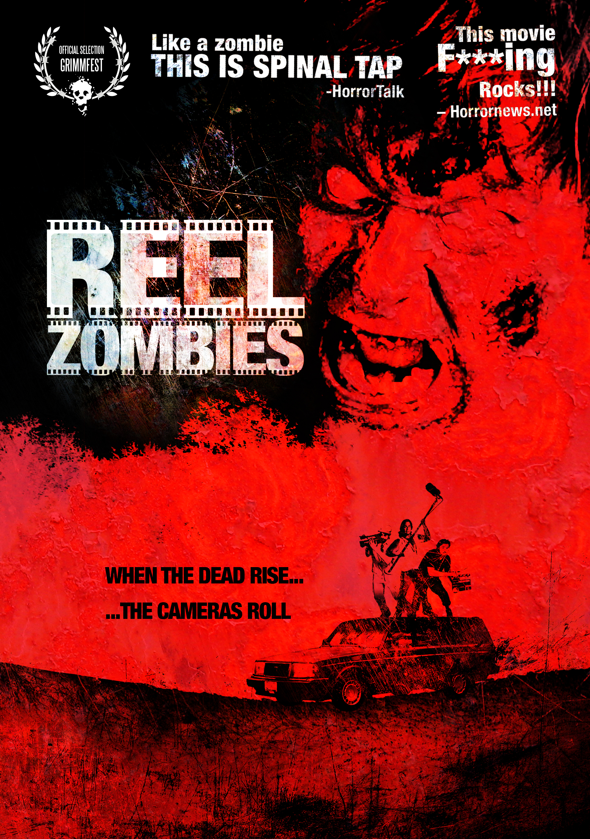 Reel Zombies DVD cover