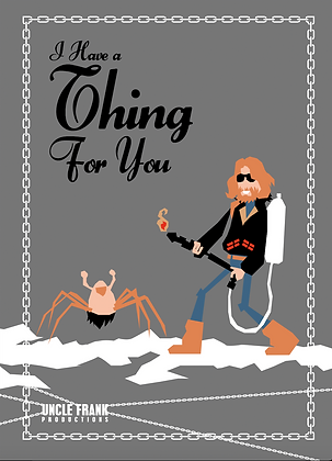 """018 THING Greetings Card:Thing For You"""""""