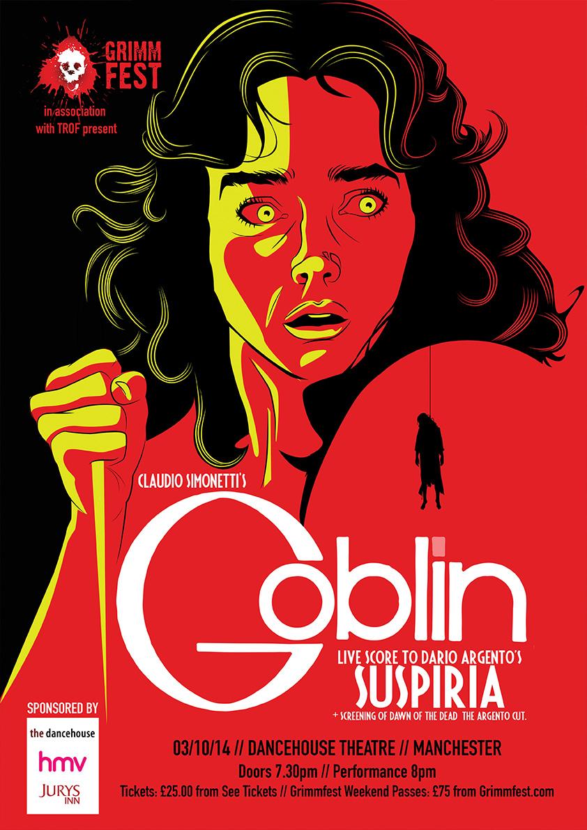 Goblin Suspiria Poster