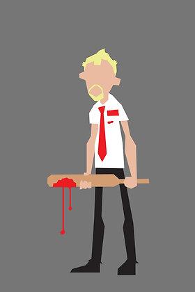 167 SHAUN Fridge Magnet Shaun of the Dead