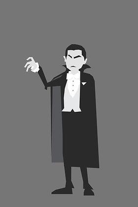 179 DRACULA Fridge Magnet Dracula