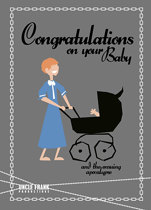 034 ROSEMARY'S BABY Greetings Card Apocalypse