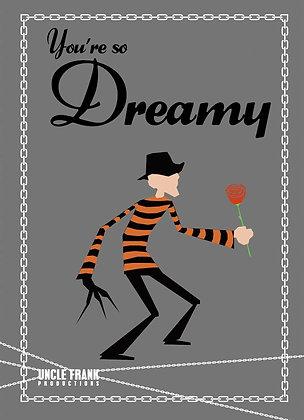 "010 FREDDY KRUEGER Greetings Card ""You're So Dreamy"""