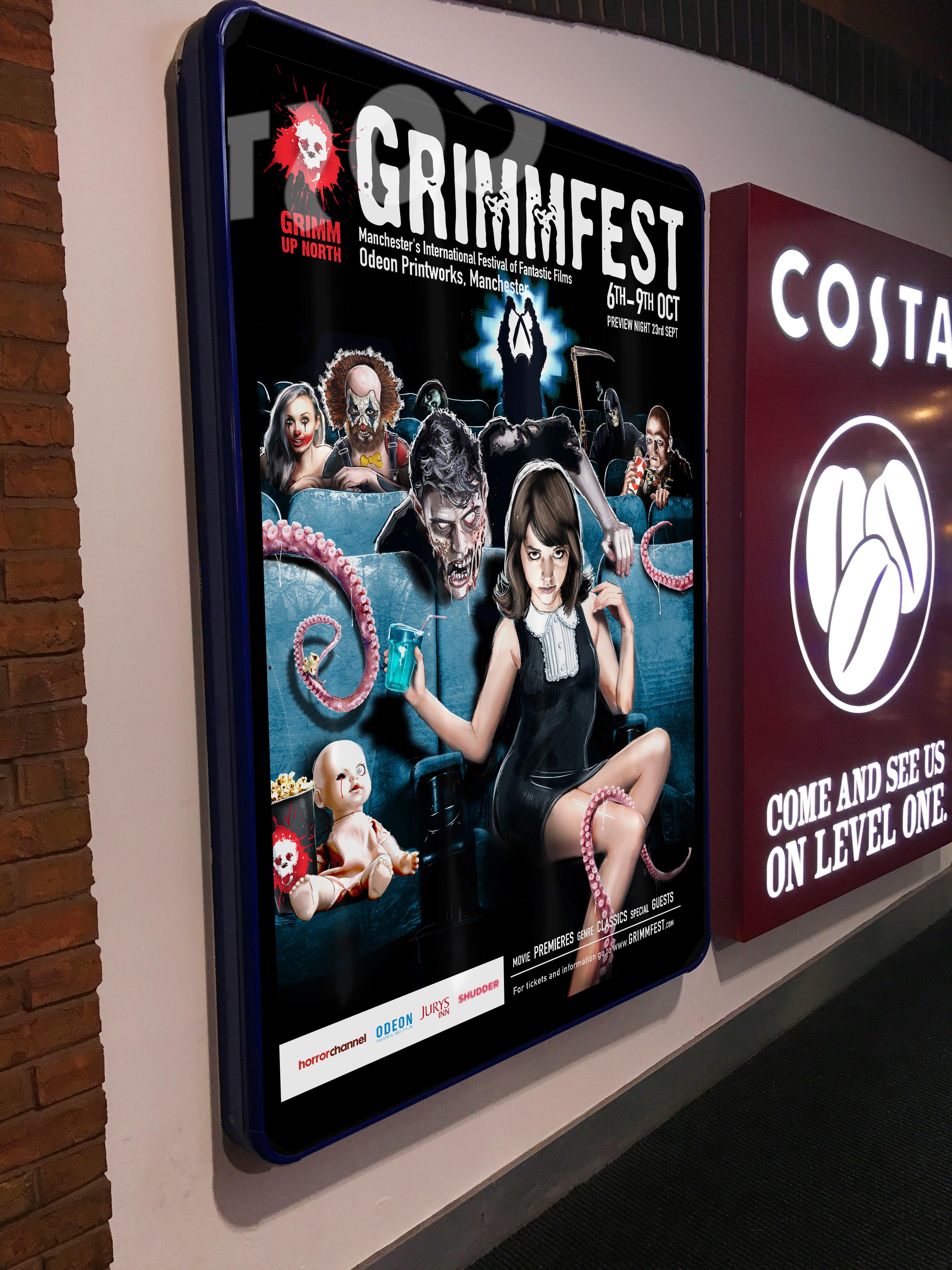 Grimmfest Cinema Poster