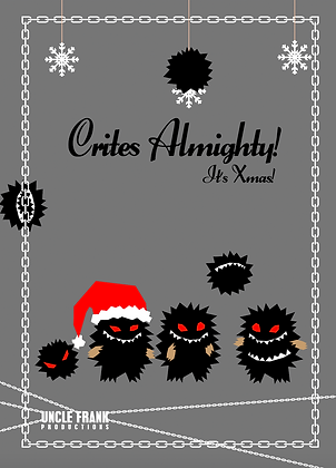 """041 CRITES Greetings Card """"ALMIGHTY"""""""