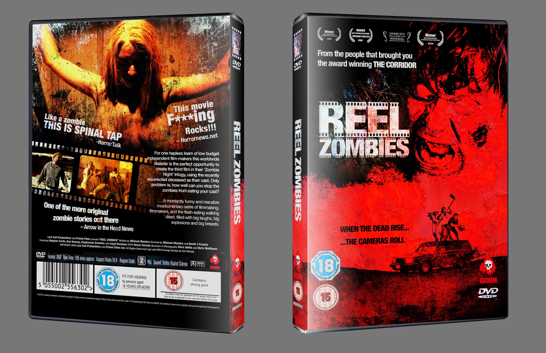 Reel Zombies DVD Mockup