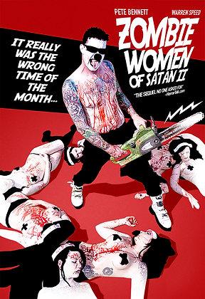 ZOMBIE WOMEN OF SATAN 2 by Warren Speed
