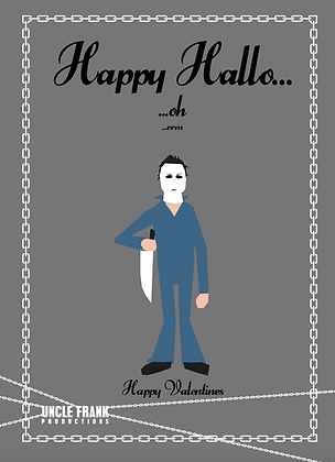 "048 MYERS Greetings Card ""HAPPY HALLO"""