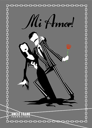 047 GOMEZ greetings card 'Mi Amor'