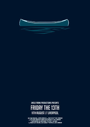 FRIDAY THE 13TH Minimalist print