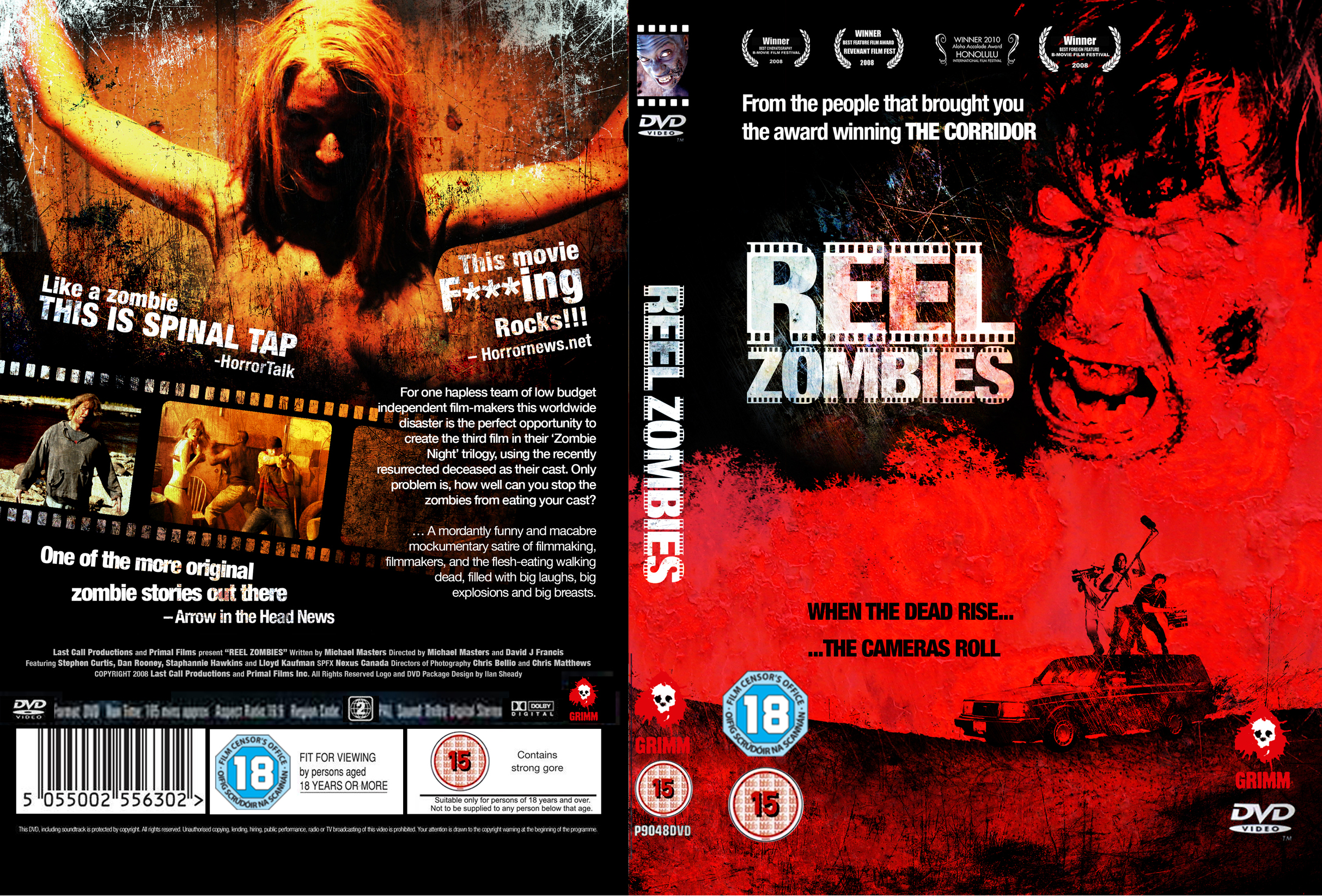 Reel Zombies DVD Wrap