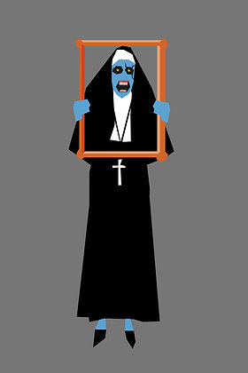 027 THE NUN fridge magnet Conjuring 2