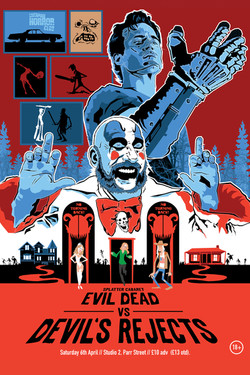 Splatter Cabaret Evil Dead vs Devil's Re