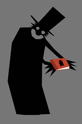 028 BABADOOK fridge magnet