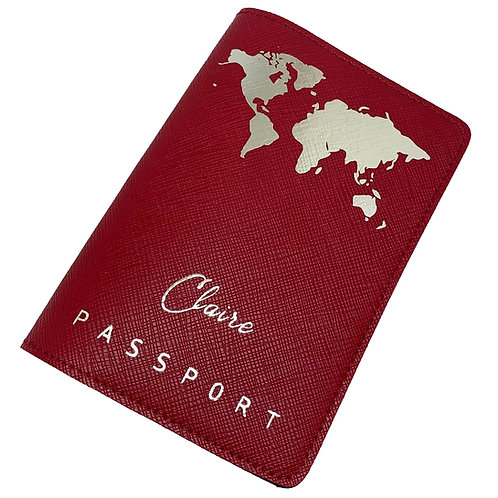 Passport Cover - Map