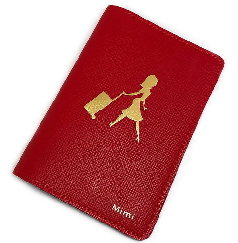 Passport Cover - Air Hostess