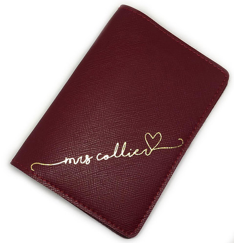 Passport Cover - With love
