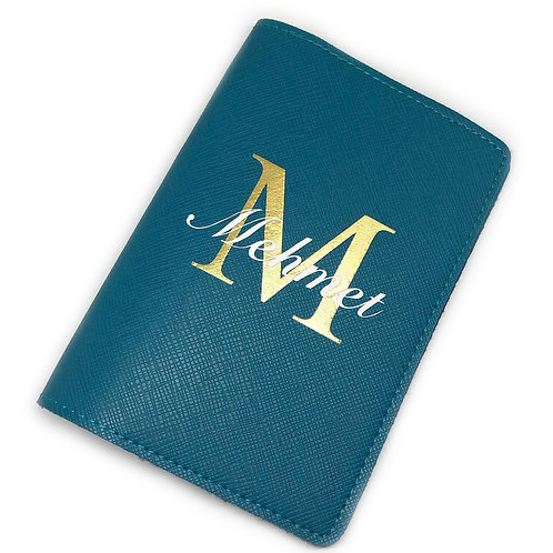 Passport Cover - Initial & Name