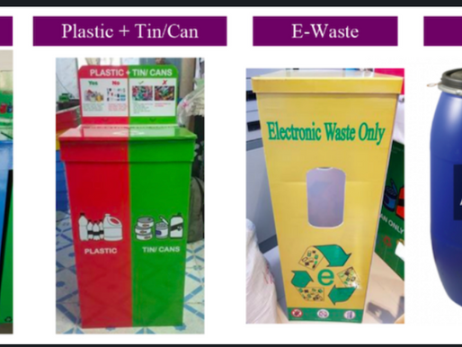 ISY recycling with Recyglo - International School of Yangon