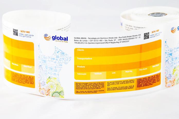 Rótulos e tiquetas adesivas para ramo de Cosméticos
