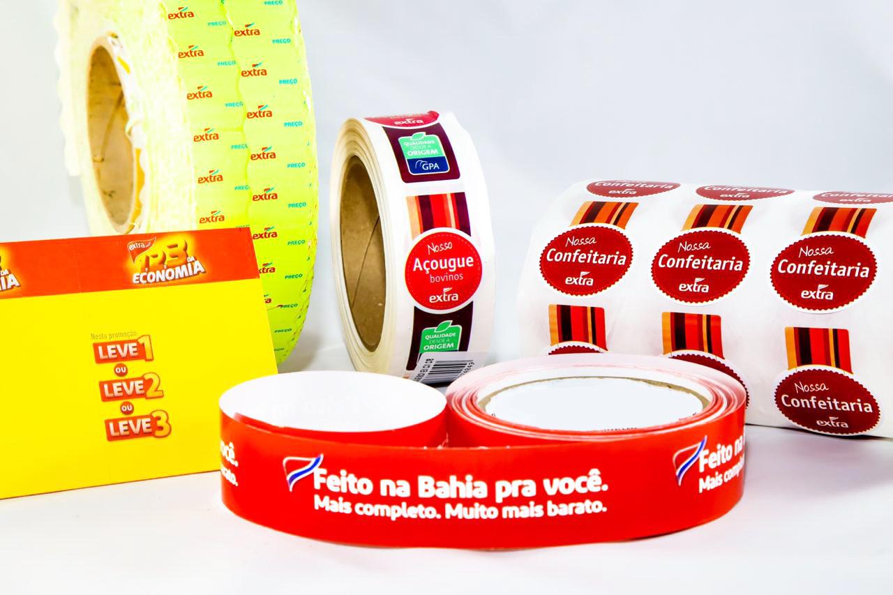 Rotulos Adesivos e Etiquetas Adesivas Ramo Alimentício