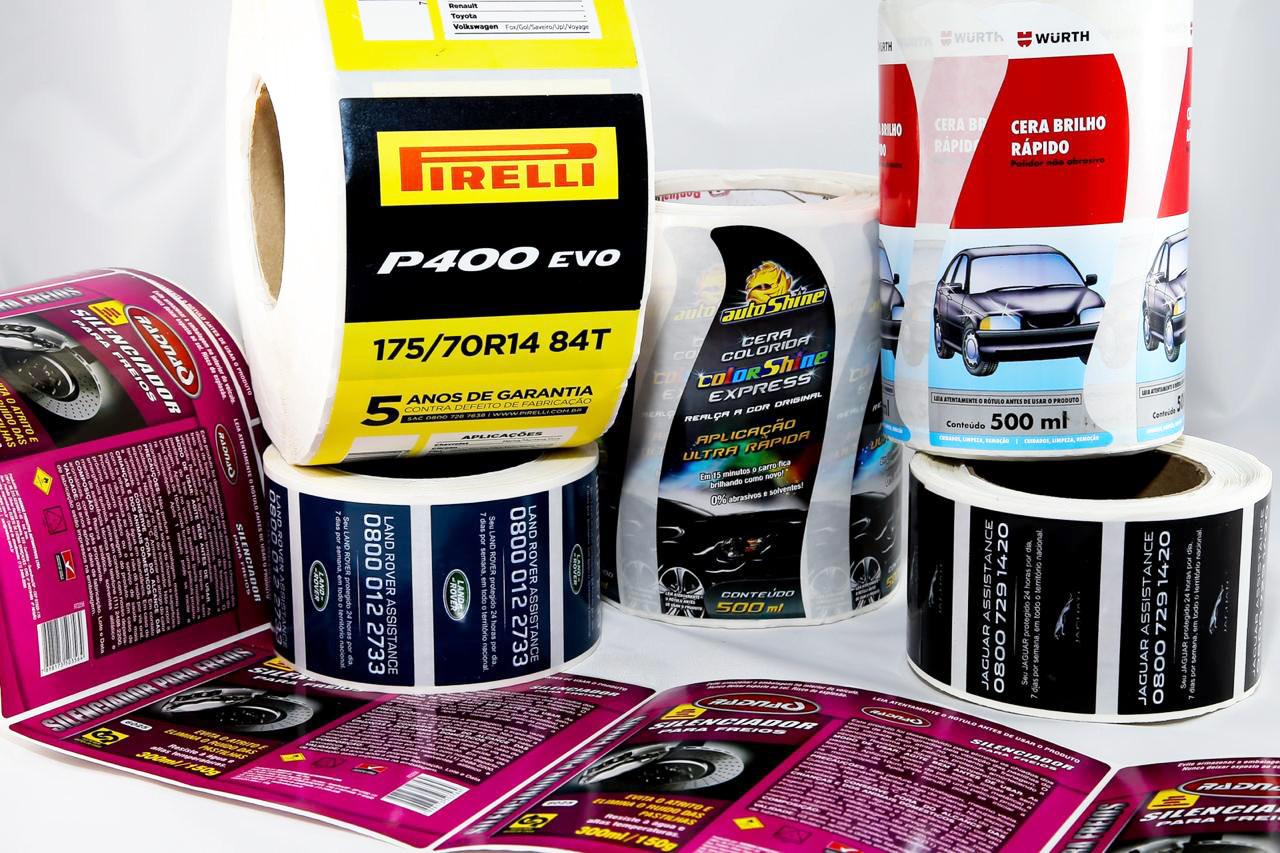 Rotulos Adesivos e Etiquetas Adesivas Automotivo Montadoras