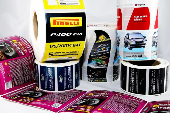 Etiquetas e Rótulos para segmento Automotivo