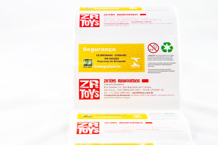 Rótulos e Etiquetas Adesivas para diversos segmentos