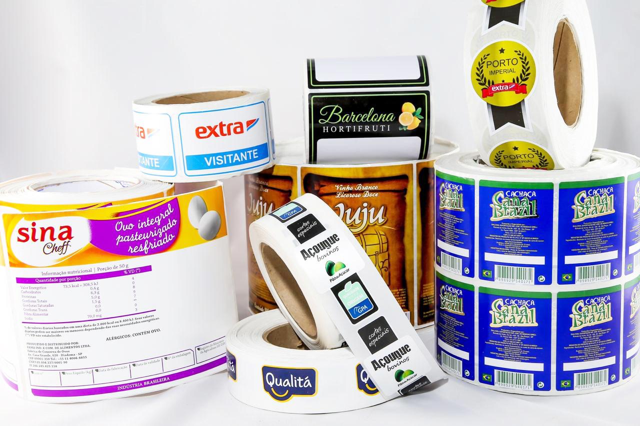 Rotulos Adesivos e Etiquetas Adesivas Alimentos