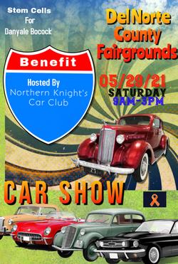 Car show flier