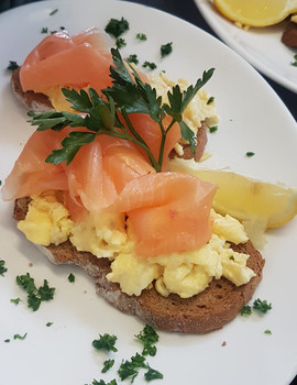 Scrambled Salmon