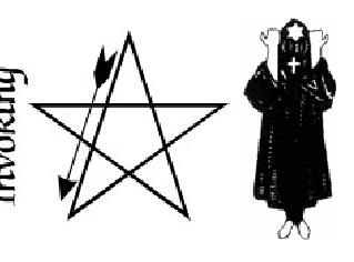 Ägyptische Variante des Pentagramms