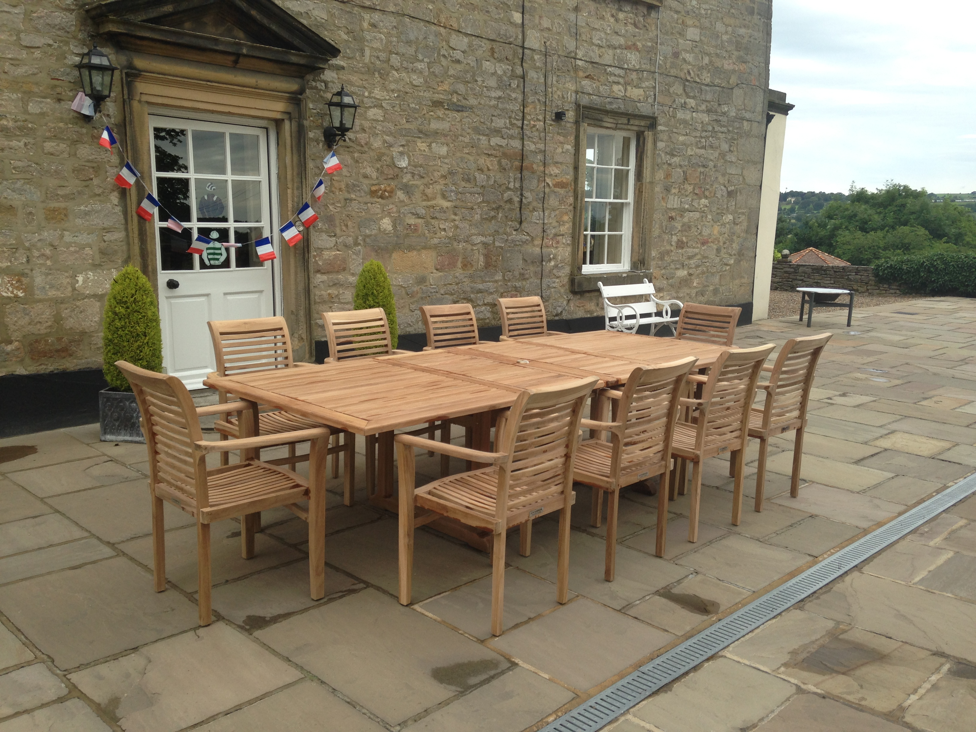 A W Robinson Furniture Teak Garden Furniture