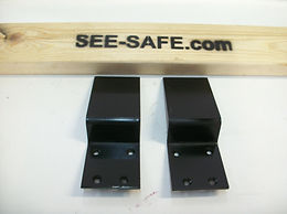 See-Safe Security Barn Door Barricade