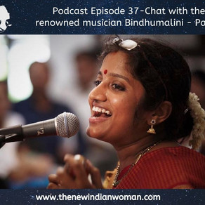 Chat with the renowned musician Bindhumalini - Part 1 -   Episode 37