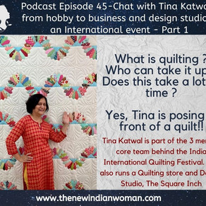 Hobby to conducting an international event, one quilt piece at a time..