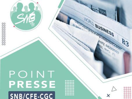 CP : LE SNB/CFE-CGC dénonce le projet de  de conseillers bancaires « auto-entrepreneurs »
