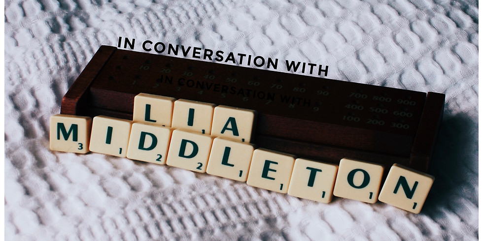 Meet the author! - Lia Middleton