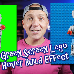 Animating Lego to build in mid air