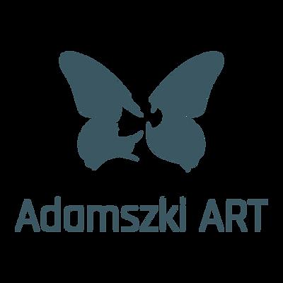 Adamszki ART_Logo_butterfly w text under