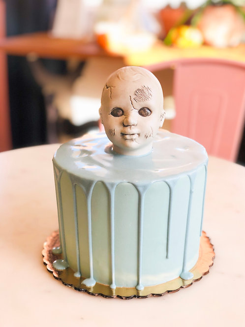 Doll Head Cake