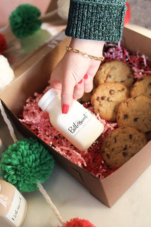 Santa's Milk + Cookies