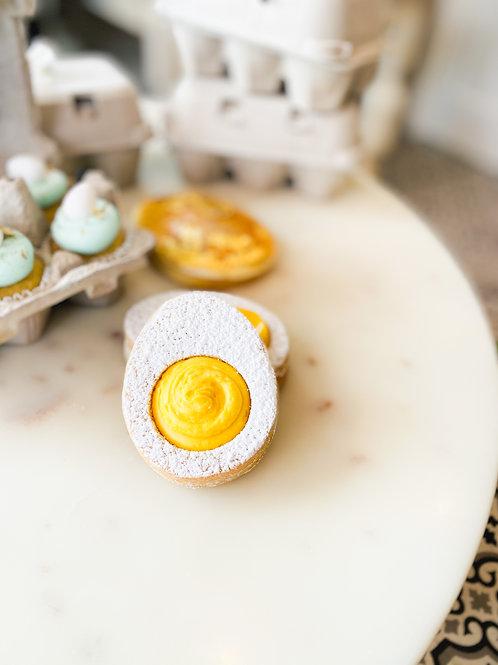 Egg Yolk Sugar Cookies