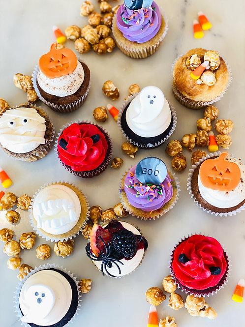 Halloween Variety Cupcake Box