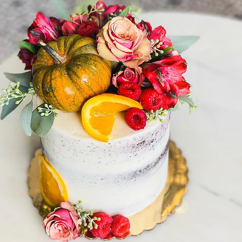 Fall Centerpiece Cake Class