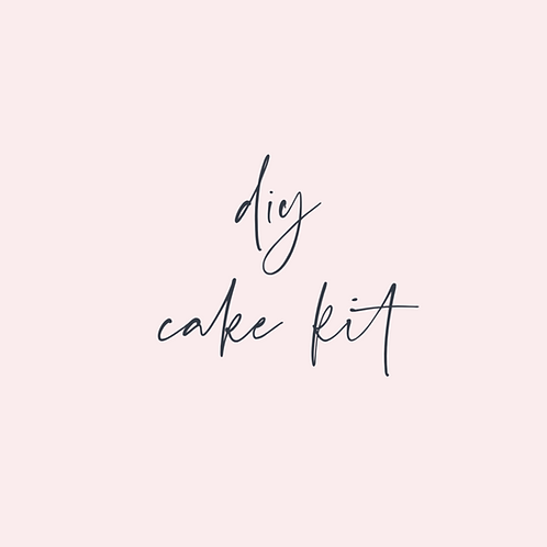 DIY Sunshine / Doomsday Cake Kit
