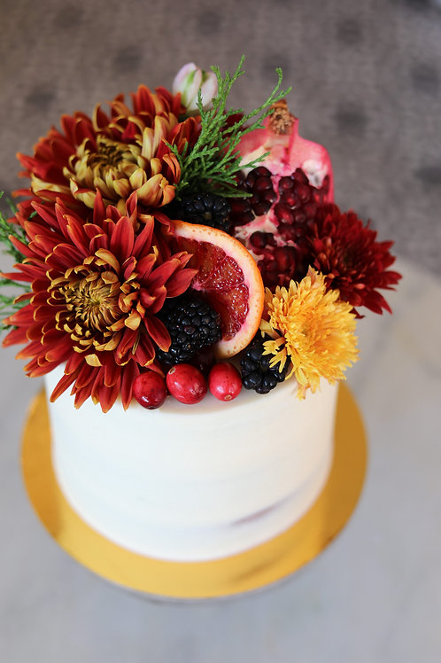 Fall Centerpiece Cake