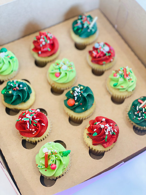 Mini Cupcake Dozen Box
