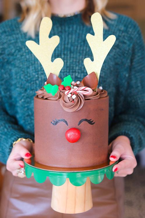 Rudolph the Reindeer Cake