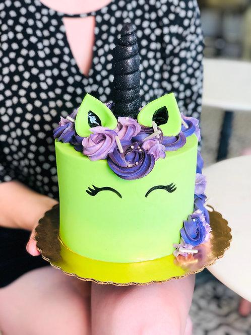 Spooky Unicorn Cake